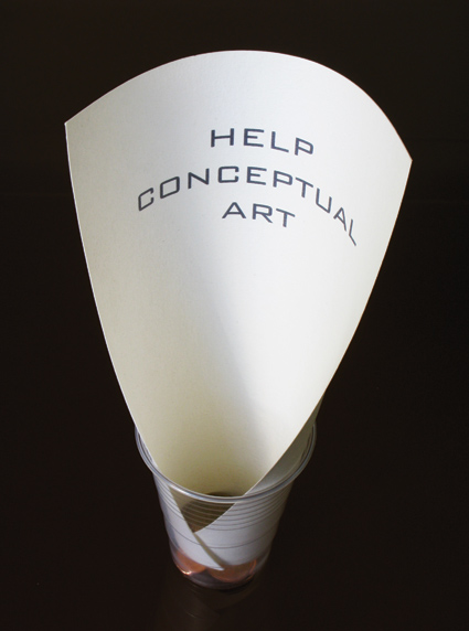 Sammy Engramer  Help Conceptual Art, 2005