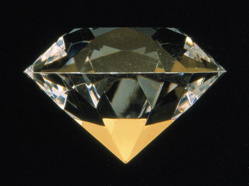 peterkreider-Hopeless Diamond,machined plexiglass, 2000
