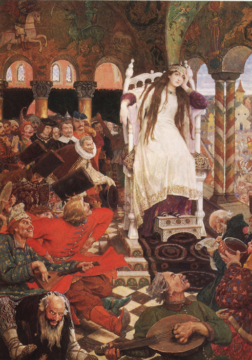 Vasnetsov_Nesmeyana-the princess who never smiled