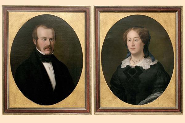 Hans-Peter Feldmann, 1 pair of Old Paintings