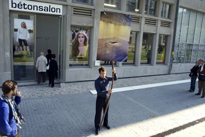 Jean charles de quillacq for Beton salon