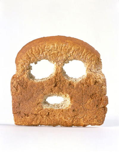 Matt-Johnson-Breadface-2004-Cast-plastic,-oil-paint