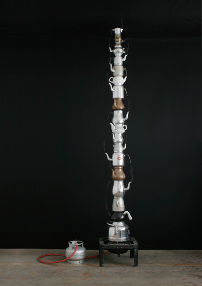 Column of steam 2011 by Johannes Vogl