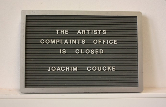 joachim coucke About, 2011