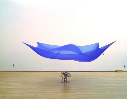 Hans Haacke-Blue Sail-1964