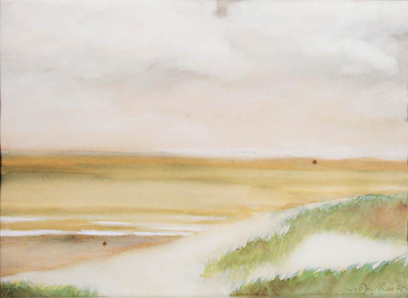 leon spilliaert paysage de dunes