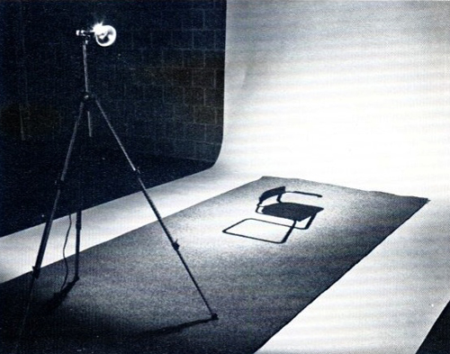 The absence of my chair, Marinus Boezem, 1968