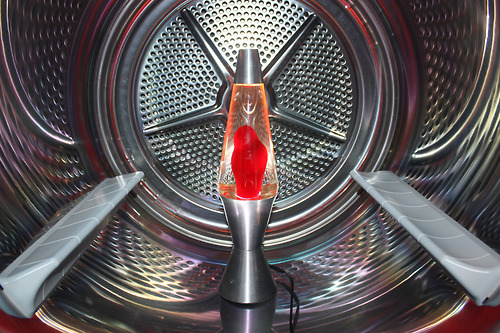 bradtroemel_LAVA LAMP IN WASHING MACHINE, 2012