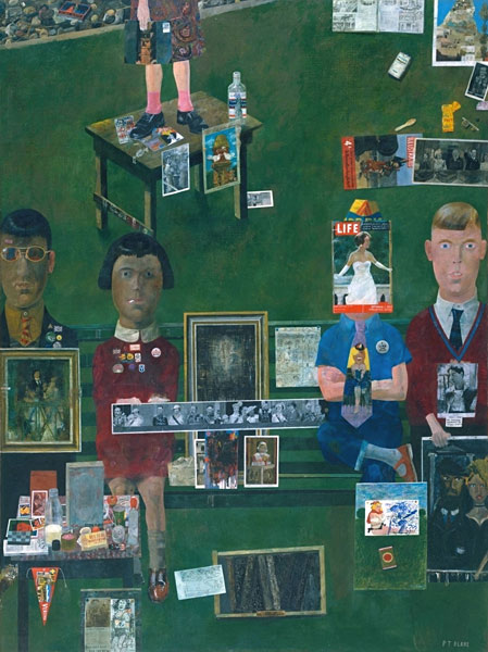 Peter Blake On the Balcony 1955-7