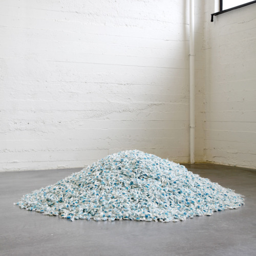 Felix Gonzalez-Torres  Untitled (Lover Boys)  1991  Candies individually wrapped in clear wrapping, endless supply