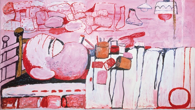 Philip Guston - Painter in Bed 1973