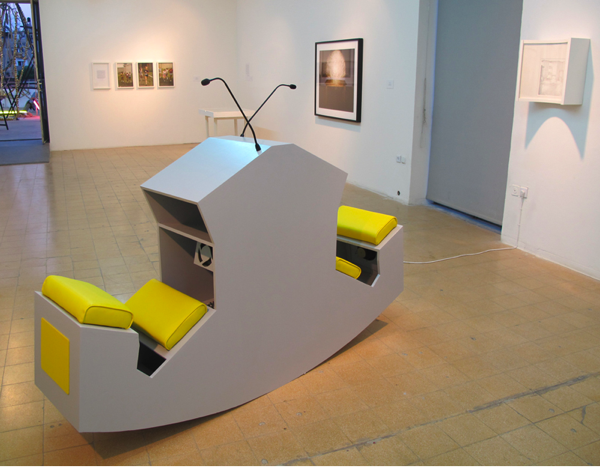 Grayson Cox, Ergonomic discussion lectern 2010