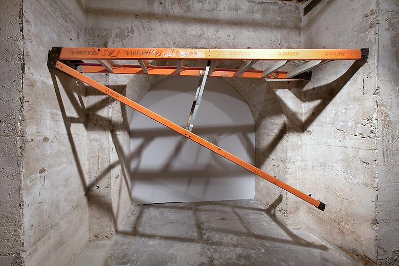 virginia_overton_Untitled (ladder), Sculpture Center, New York 2009