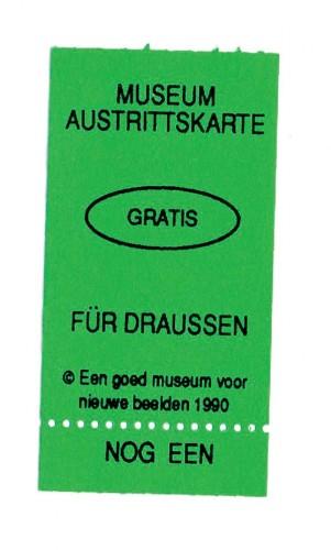 austrittskarte
