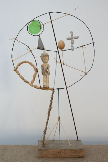 7tree, 86x50cm, various materials, 2010