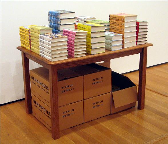 Allen Ruppersberg, Remainders-novel,sculpture,film-1991-self published books