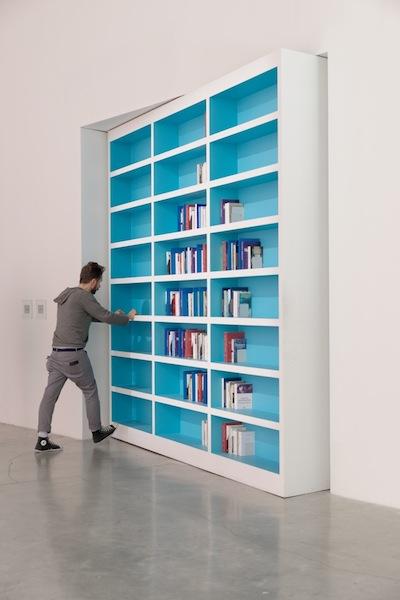 Dominique Gonzalez-Foerster, La Bibliotheque clandestine, 2013