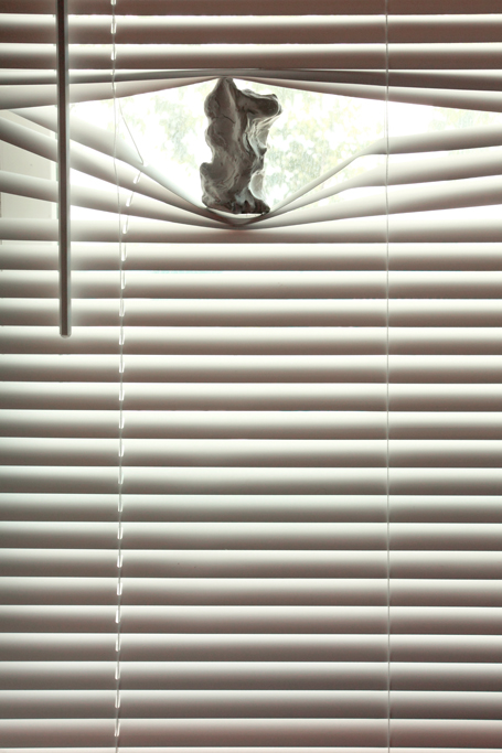 rachel de joode - sculpture in between the blinds 2012