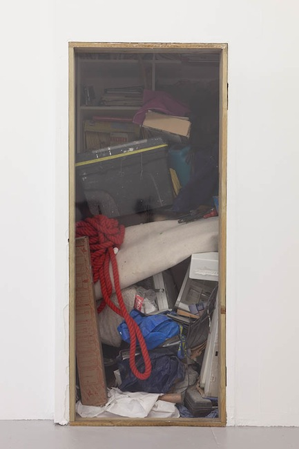 stevebishop_If Everything has a Place then Place too has a Place III (2012) Wooden frame, window insulation film