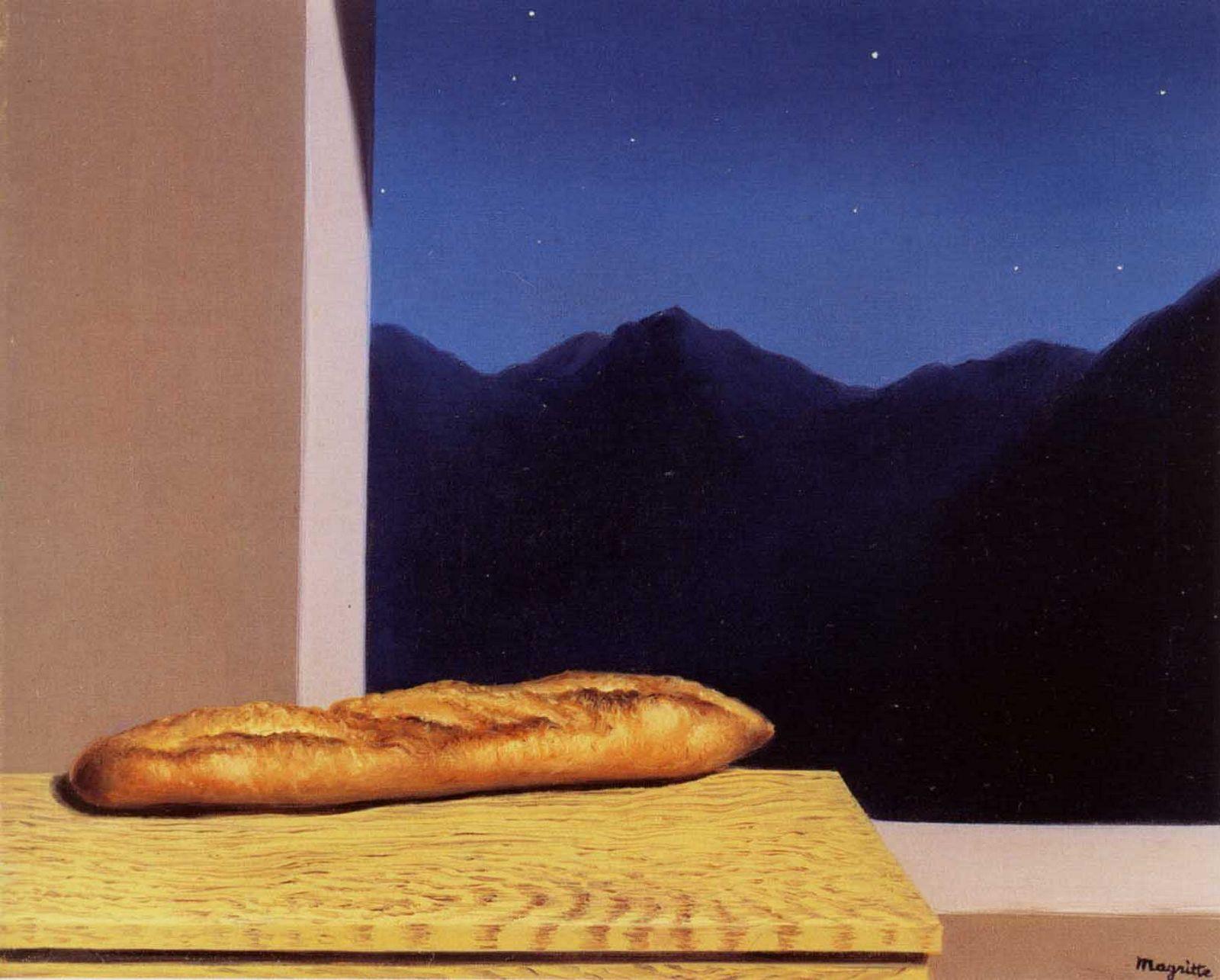 1936 Magritte L'Avenir, 54x65 cm