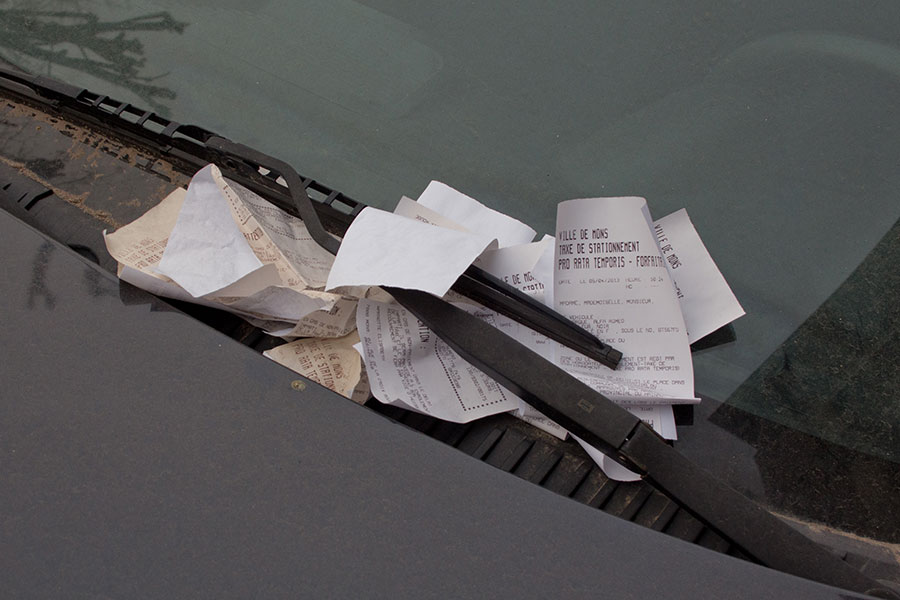 MathieuTremblin_PARKING TICKETS BOUQUET 2013-1