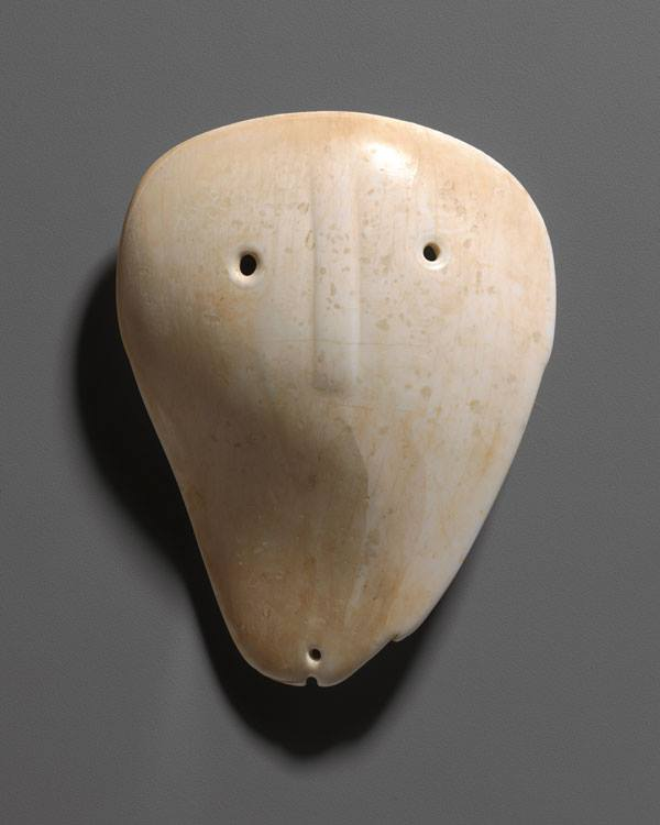 Unknown Artist - Shell Mask Gorget, ca. 1500-1700 North American Indian, Late Mississippian Culture