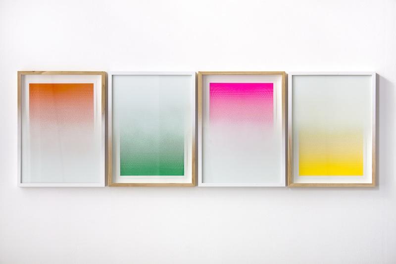 jason_coburn_Inverted Apparition- Multiplied (Orange, Green, Pink, Yellow) 2014