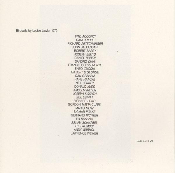 01_Louise_Lawler-Birdcalls_2