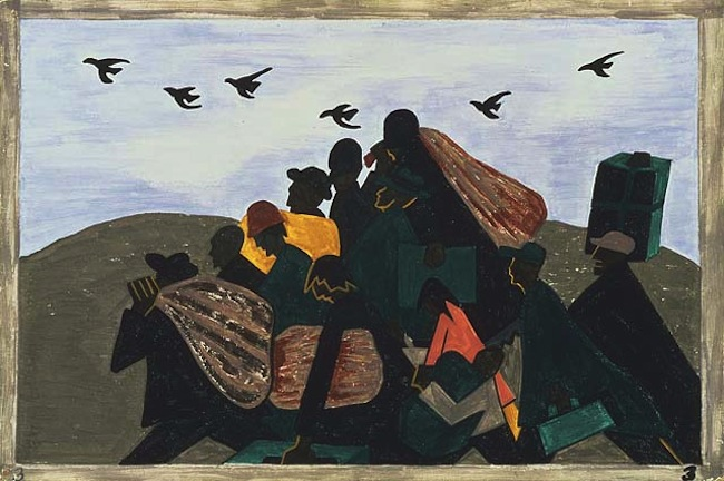 Jacob LawrenceThe Migration of the Negro (Panel 3)1940-1941