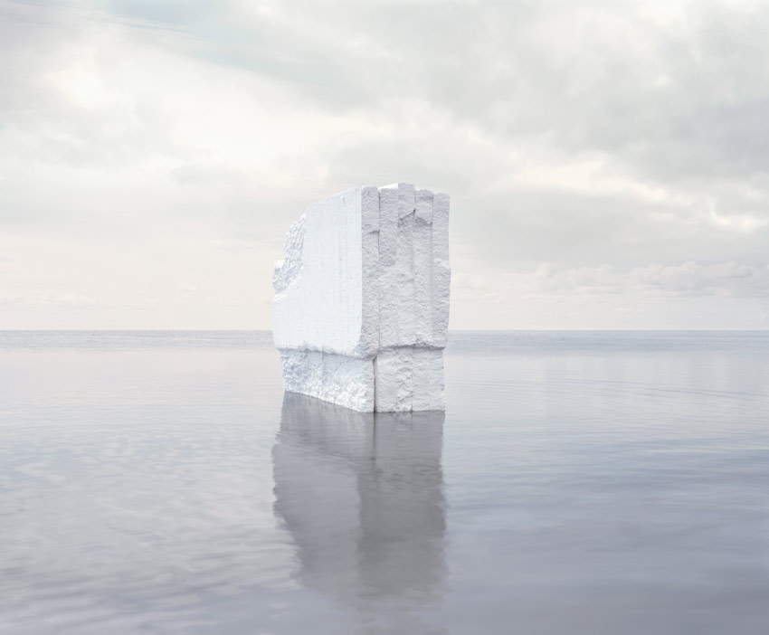 Noemie Goudal, Iceberg, from Haven Her Body Was
