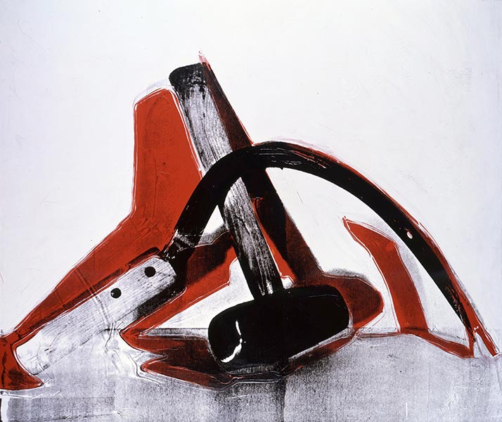 Andy Warhol, Hammer and Sickle, 1976