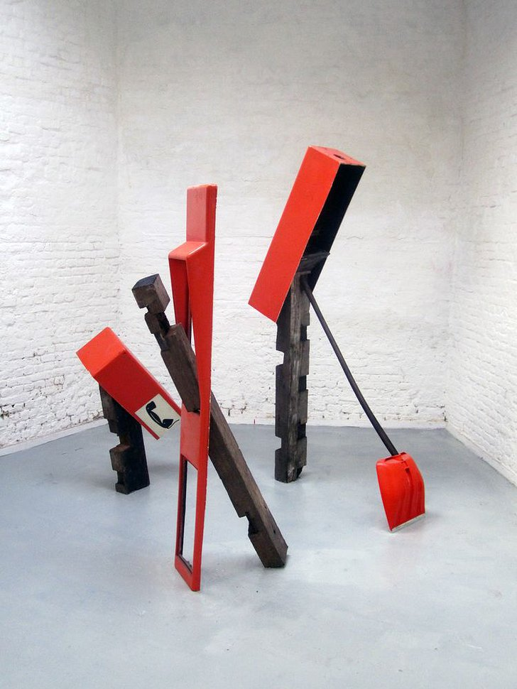 johan gelper  reassembled sculpture, 2013