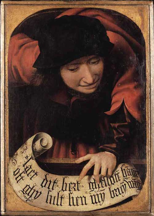 Anonymous-Flemish-artist,-Satirical-Diptych,-early-16th-century_closed