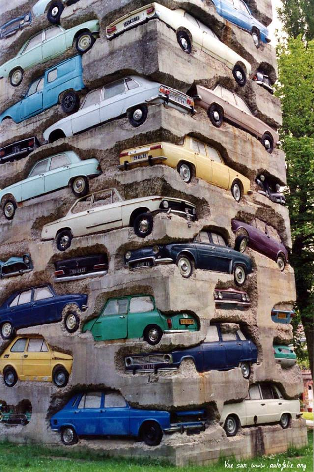 Arman-long term parking'-1982