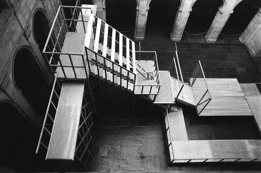 Mary Miss, Mirror Way, 1980