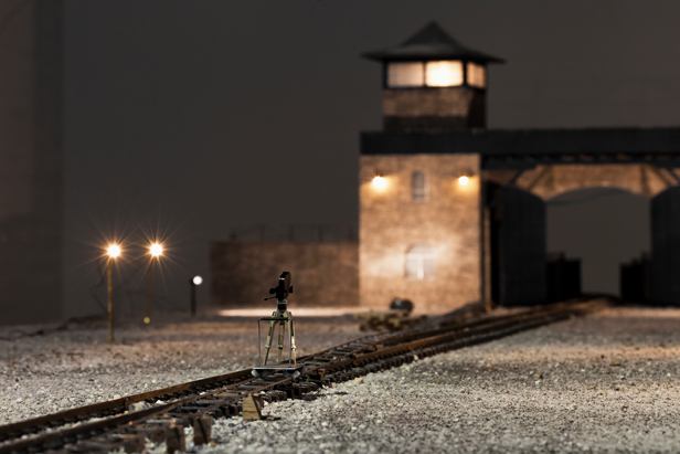 danigal_Model for a film set of the Mauthausen concentration camp from the memory of Mr. Kuck 2013-1