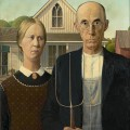 Grant Wood - American Gothic (1930)