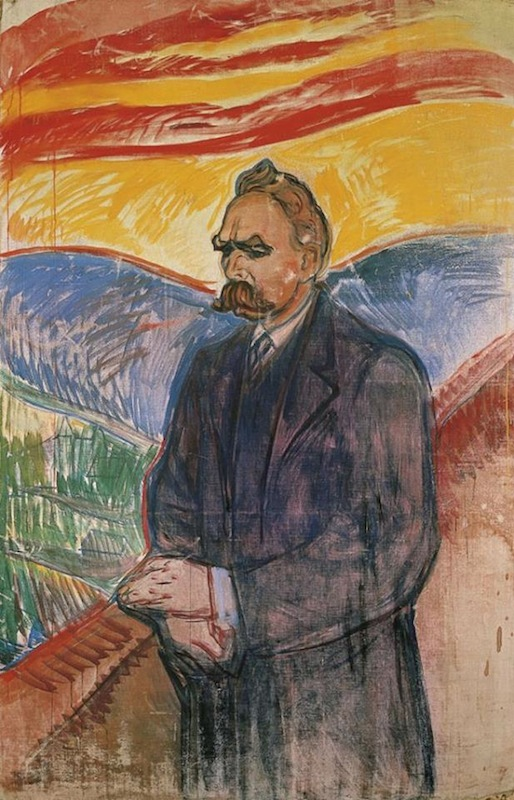 Nietzsche by Edvard Munch-1906