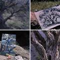 Disney_4-artists-paint-1-tree