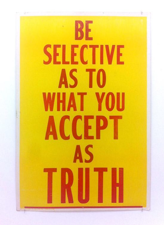 Gregory_Green-Be-Selective-as-to-What-You-Accept-as-Truth-1987