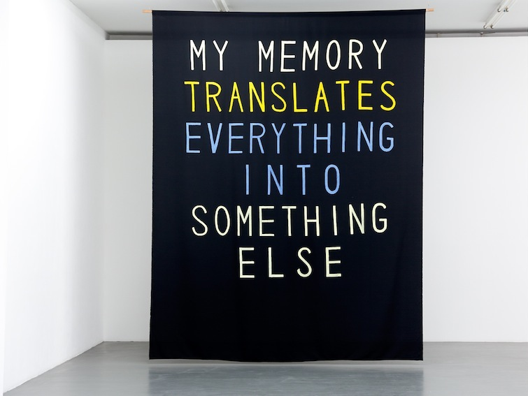 Sharon Hayes_My Memory Translates Everything into Something Else