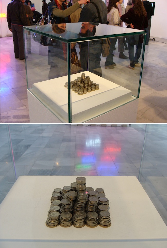 Vikenti Komitski, 'My Budget For This Exhibition', 2009