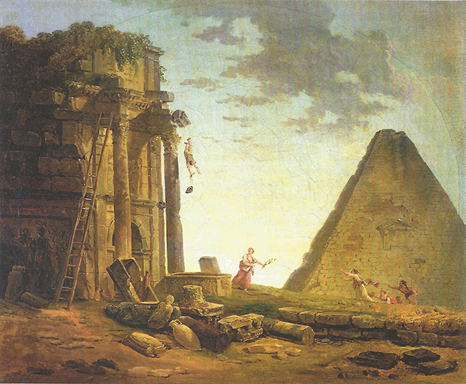 hubert robert_the accident_ca.1790-1804