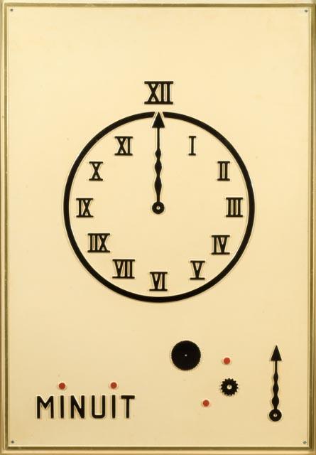 1969 Minuit, Marcel Broodthaers