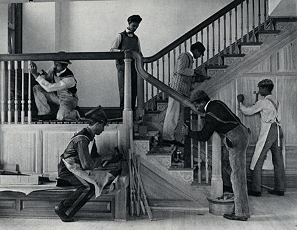 Frances-Johnston-Making-a-Staircase