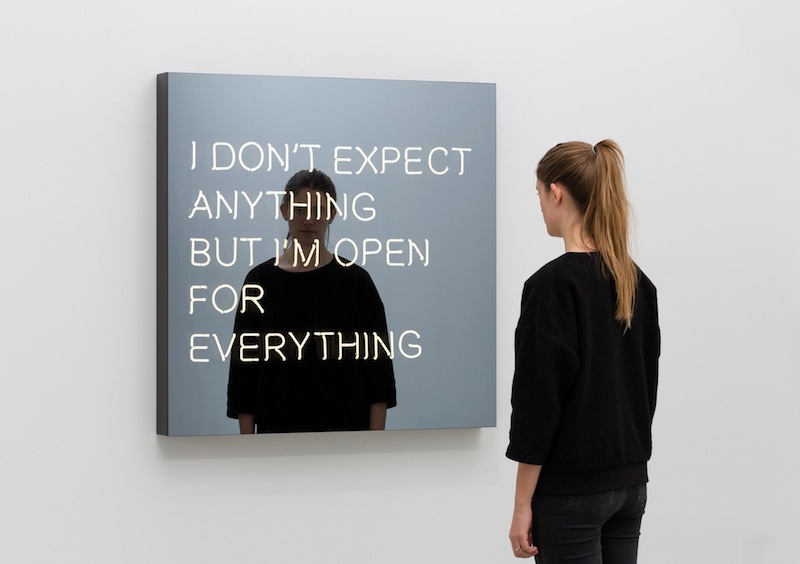 "Jeppe Hein I Don't Expect Anything But I'm Open For Everything"" (2014)"
