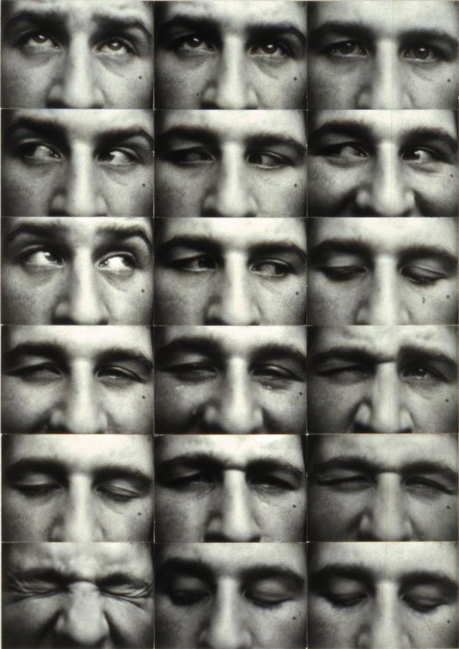 Kurt Kranz Augenreihe (Eye rows) 1931