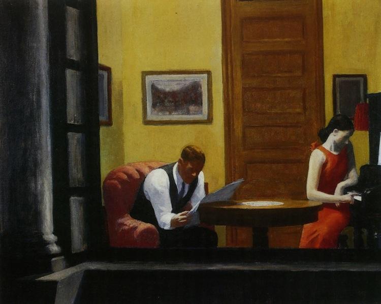 Hopper Edward - Room in New York - 1940
