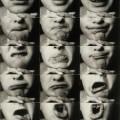 Kurt Kranz Mund-Reihen (Mouth rows) 1931