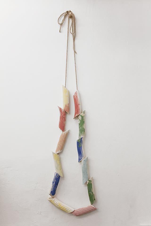 Bevis Martin and Charlie Youle - Pasta Necklace, 2015
